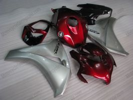 Honda CBR1000RR 2008-2011 Carénage ABS Injection - Fireblade - rouge/argent