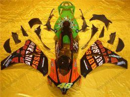 Honda CBR1000RR 2008-2011 Carénage ABS Injection - Rossi - vert/noir/orange