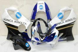 Honda CBR600 F4i 2004-2007 Carénage ABS Injection - Konica Minolta - blanc/noir/bleu