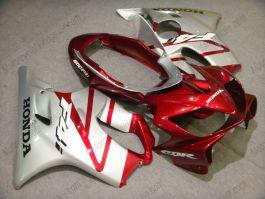 Honda CBR600 F4i 2004-2007 Carénage ABS Injection - autres - argent/rouge