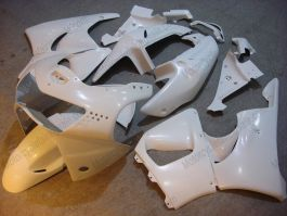 Honda CBR900RR 919 1998-1999 Carénage ABS - Factory Style - tout blanc