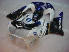 Honda CBR900RR 919 1998-1999 Carénage ABS - Konica Minolta - blanc/noir/bleu