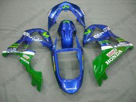 Honda CBR900RR 929 2000-2001 Carénage ABS - Movistar - bleu/vert