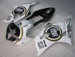 Suzuki GSX-R 1000 2003-2004 K3 Carénage ABS Injection - Lucky Strike - blanc/noir